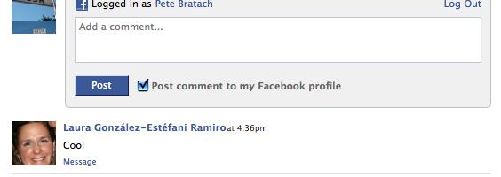 Inserire i commenti facebook sul proprio sito (comment box)