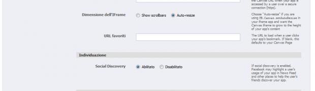Come creare un applicazione per FaceBook (senza librerie php)